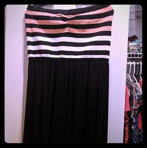 Rachel Roy strapless maxi dress